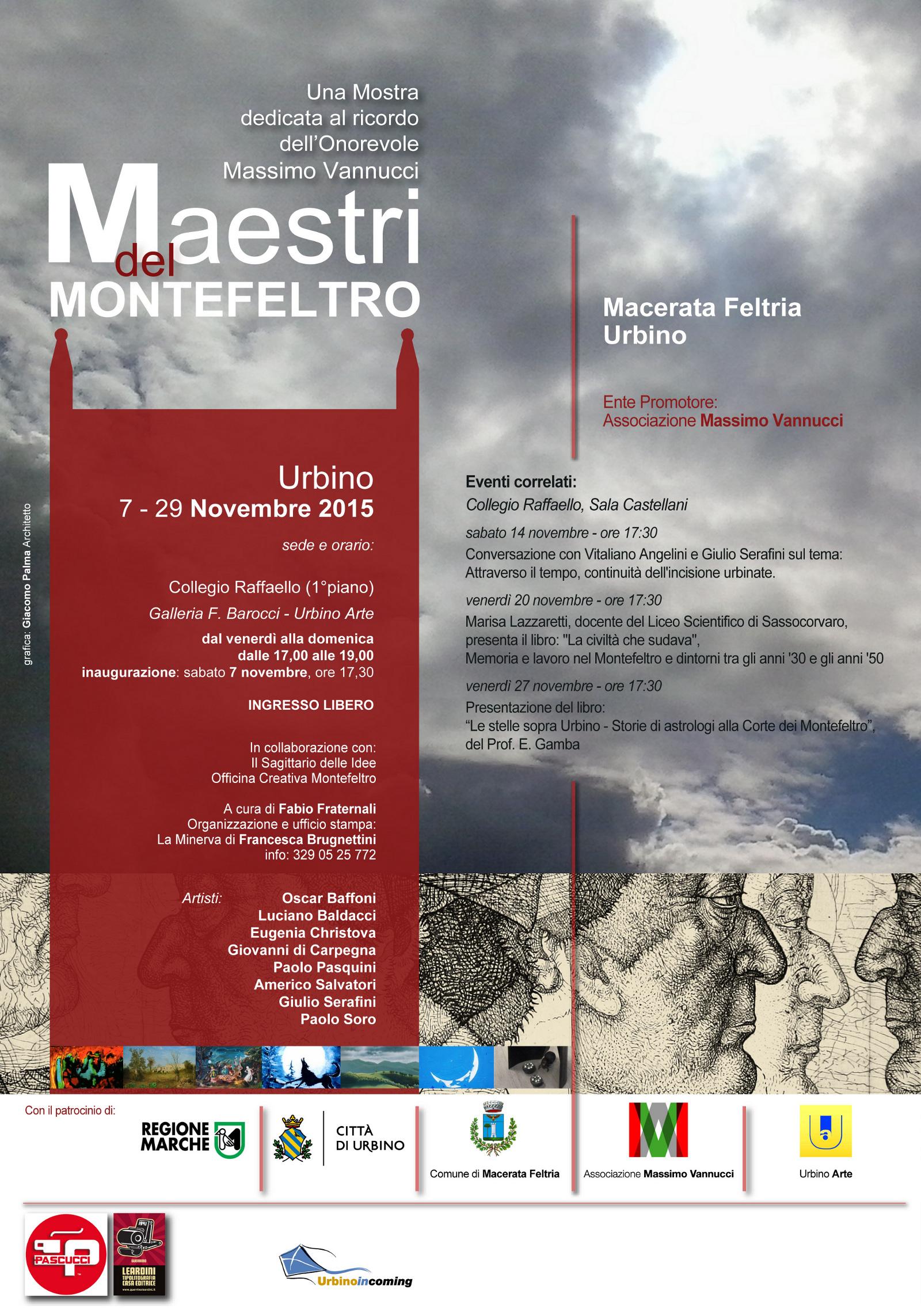 Maestri del Montefeltro_Locandina-dépliant A4 - Urbino